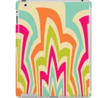 Modern Flame Colorful Pattern iPad Case/Skin