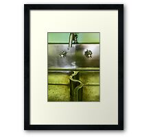 The Sink Framed Print