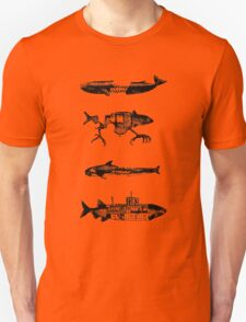 Fish Pattern Unisex T-Shirt