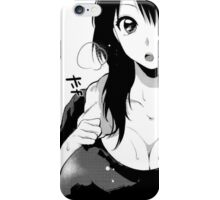 girl in tank top iPhone Case/Skin