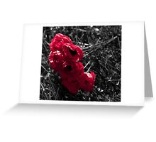 """""""...And in the morning, we will remember them."""" Greeting Card"""