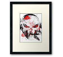 Pop Grunge: The Punisher Framed Print