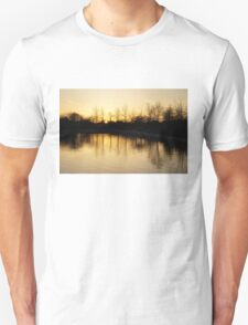 Golden and Peaceful - a Sunset on Lake Ontario in Toronto, Canada T-Shirt