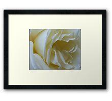Vanilla icecream Framed Print