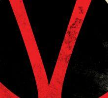 Pop Grunge: V Sticker