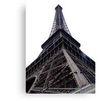 Where the angels are, Eiffel Tower, Paris Canvas Print