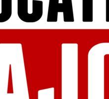 Education Major Sticker