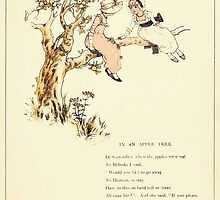 Marigold Garden Pictures and Rhymes Kate Grenaway 1900 0021 In an Apple Tree by wetdryvac