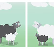 Racist Sheep by Atky