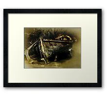 The End of the Journey Framed Print