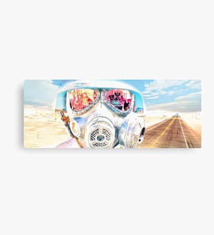 Wasteland Warrior Canvas Print