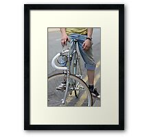 Single Speed Framed Print