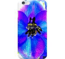 Delphinium Detail iPhone Case/Skin