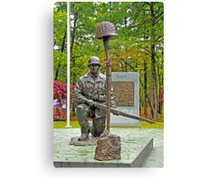 World War II Veterans Memorial Park Monument Canvas Print