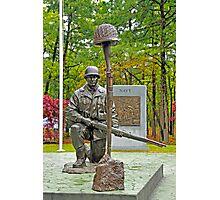 World War II Veterans Memorial Park Monument Photographic Print