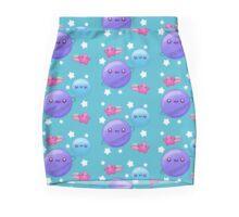 Kawaii earth moon and stars Mini Skirt