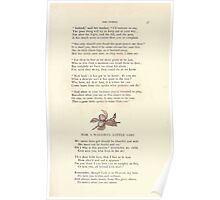 LIttle Ann and Other Poems by Jane and Ann Taylor art Kate Greenaway 1883 0041 For a Naughty Girl Poster