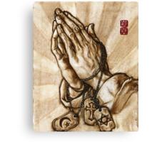 one same God   [politically corrected series] Canvas Print