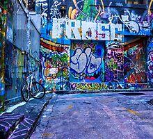 Melbourne Street Art  by Chris Kean
