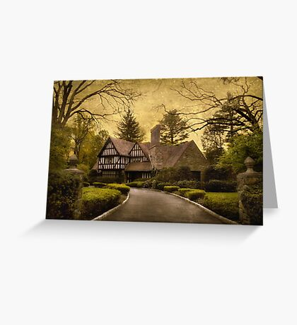 Tudor Estate Greeting Card