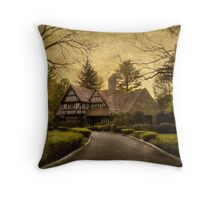 Tudor Estate Throw Pillow