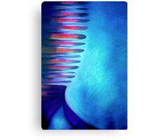Blue Box Blues Canvas Print