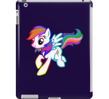 Crystal nights rainbow dash geek funny nerd iPad Case/Skin