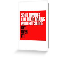 some zombies... Greeting Card