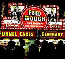 Fried Dough - Print by Mark Podger