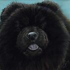 Black Chow Chow by Charlotte Yealey