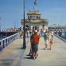 St Kilda Pier (Melbourne-Australia) by Ivana Pinaffo