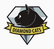 Diamond Cats One Piece - Short Sleeve