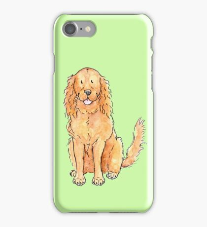 Winnie the cocker spaniel iPhone Case/Skin
