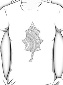 Ornate leaf T-Shirt