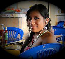 Salinas, Ecuador Teen by Al Bourassa