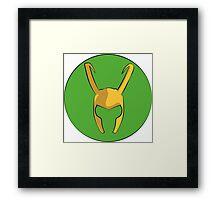Loki of Asgard. Framed Print