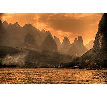Beautiful Li River Photographic Print