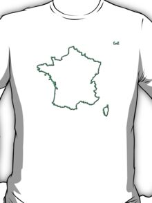 "France ""Citizen of the Earth"" large T-Shirt"