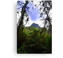 Mountain Overlooking San Fernando, Ecuador Canvas Print