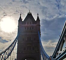 Tower Bridge in London, England by Laura Sanders