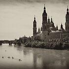 El Pilar Basilica, Zaragoza Spain by Laura Cooper
