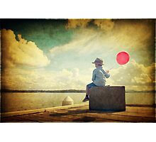 Cloud Watching Photographic Print