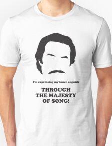 Ron Burgundy - Majesty of Song Unisex T-Shirt