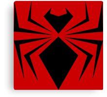Black Iron Spider Canvas Print