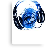 Earth_Music Canvas Print