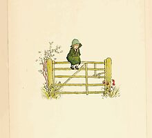 A Day in a Child's Life Myles Birket Foster and Kate Greenaway 1881 0011 Fence Sitting by wetdryvac