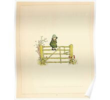 A Day in a Child's Life Myles Birket Foster and Kate Greenaway 1881 0011 Fence Sitting Poster