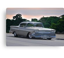 1958 Chevrolet Impala Two Door Hardtop Canvas Print