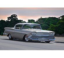 1958 Chevrolet Impala Two Door Hardtop Photographic Print