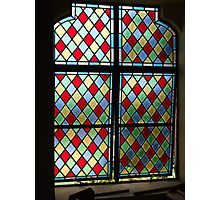 Stained Glass, Window, Caribean, Church Photographic Print